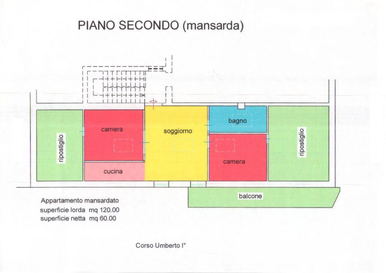 Mansarda al Centro di Termoli – Corso Umberto I°